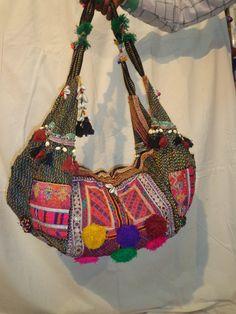 banjara bags/gypsy bags/tribal bags/antique by jaisalmerhandloom, $99.00