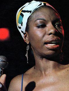 Nina Simone- before her time.
