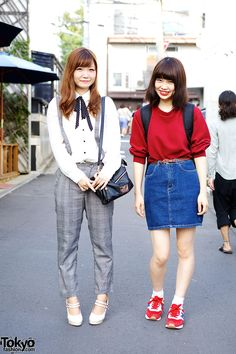 Great outfits and smiles. ^_^ <3