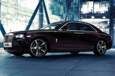 Rolls-Royce Ghost  The classic coupe of those cars make of them my favorites