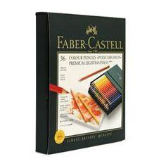 Coffret de 36 crayons de couleur Polychromos   DeSerres