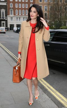Amal Clooney wears William Vintage (Dior and Balmain)