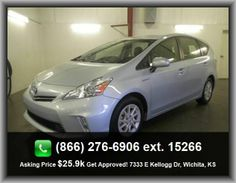 2012 Toyota Prius v Three Wagon   Reclining Rear Seats, Bluetooth, Passenger Airbag, Front Seat Type - Bucket, 98 Hp Horsepower, Intermittent Window Wipers, Power Steering, Stability Control,