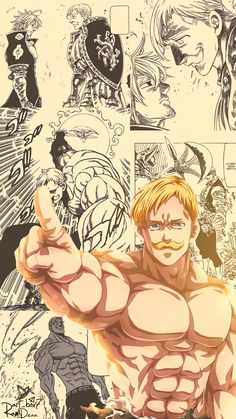 Escanor - The Seven Deadly Sins Seven Deadly Sins Anime, 7 Deadly Sins, Anime Manga, Anime Art, Seven Deady Sins, 7 Sins, Animes Wallpapers, Tokyo Ghoul, Kawaii Anime