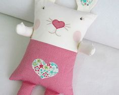 Christmas Stockings, Baby Kids, Throw Pillows, Toys, Holiday Decor, Creative, Fabric, Crafts, Animals