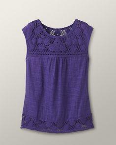 Crochet bliss top - [K13198]