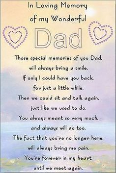 10 Ideas on Detox Cleanse For Weight Loss Dad In Heaven Quotes, Miss You Dad Quotes, Missing Dad In Heaven, Dad Qoutes, Rip Quotes, Heaven Poems, Loss Quotes, Dad Poems, Grief Poems