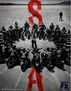 SOA  Sons Of Anarchy Promo Poster for Season 5 from F/X