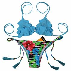 Only $33.39 - Nice NAKIAEOI 2017 Sexy Brazilian Bikinis Women Swimsuit Girls Swimwear Halter Top Bottoms Micro Bikini Set Bathing Suits Swim Wear - Buy it Now!