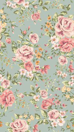 vintage flower wallpaper backgrounds classic wallpaper seamless rh pinterest com