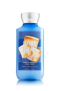 Beach Nights - Summer Marshmallow Body Lotion - Signature Collection - Bath & Body Works