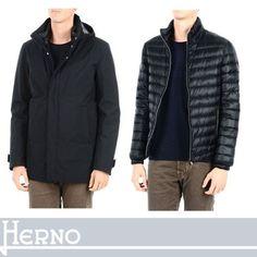 HERNO ダウンジャケット HERNO ダウンインで本格感と軽やかさを両立 ダウンジャケット