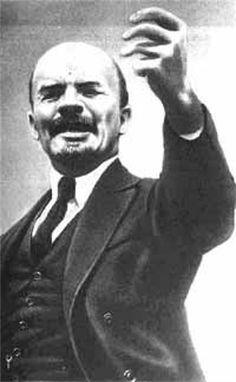 Lenin werd aangewezen door het volk als leider van de russische reolutie