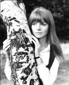 Beautiful Jane Asher--would have been Mrs. Paul McCartney, but wanted her career.  Beautiful lady, then and now.