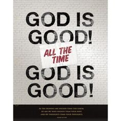 """Express your faith at school and keep your homework organized with the God Is Good Pocket Folder, inspired by the hit movie God's Not Dead. Featuring the quote from the movie, """"God is good all the time, and all the time God is good,"""" this folder also has Isaiah 55:9 quoted at the bottom. #GodsNotDead"""