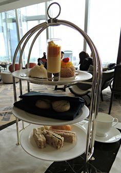 80 pairs of shoes shangri la london the shard afternoon tea