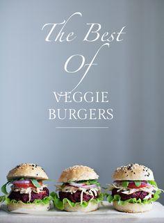 the best of veggie burgers