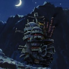 Studio Ghibli, Howls Moving Castle, Iconic Characters, Hayao Miyazaki, Shiro, Icons, Jewelry, Anime Films, Castle