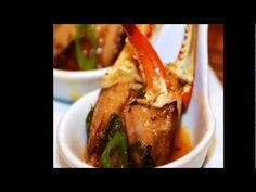 Louisiana Crab Claws Bordelaise:  Step-by-step video tutorial from MenuMusings.com.  The perfect, elegant, 15 minute appetizer dish!