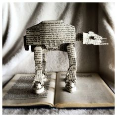 AT-AT Book Art by @Kanaina Warren