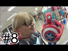 #8 Thor cortando cabelo Homem Aranha Spider-Man Marvel  Vingadores Papai...
