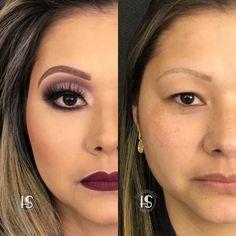 Vcs sabem que eu sou muito adepta da valorização da beleza!! Mas acho fantástico o poder da transformação!! Eh fantástico o que podemos fazer apenas com Pinceis e maquiagem! ❤️❤️❤️❤️❤️❤️❤️❤️❤️❤️❤️