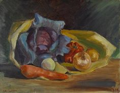 Charles Camoin, Still Life with Vegetables