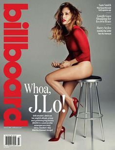 J.Lo on Billboard cover 6-21-14