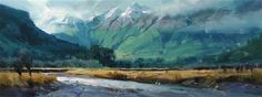 "Daily Paintworks - ""Chinaman's Bluff"" by Richard Robinson"