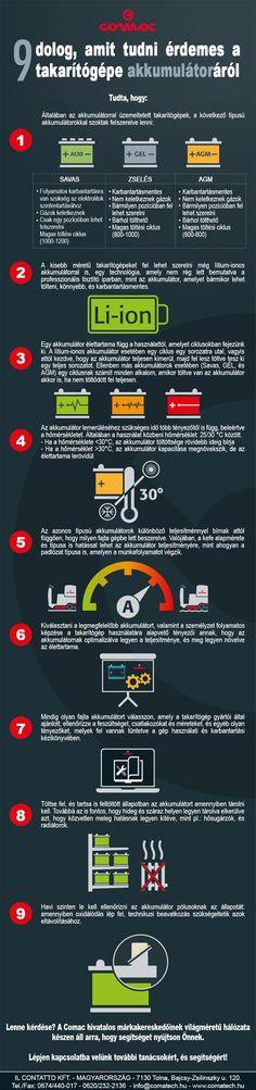 9 dolog, amit tudni érdemes a takarítógépe akkumulátoráról