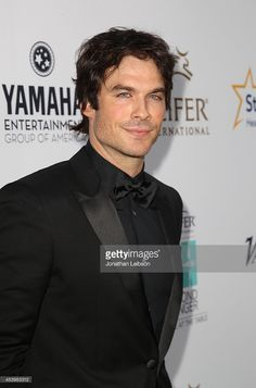 Honoree Ian Somerhalder attends Heifer International's 3rd Annual 'Beyond Hunger: A Place At The Table' Gala at Montage Beverly Hills on August 22, 2014 in Beverly Hills, California.