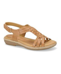 Look at this #zulilyfind! Sand Sheela Leather Slingback by Softspots #zulilyfinds