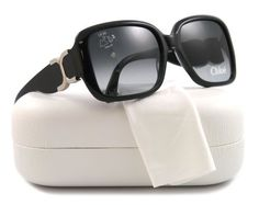 Chloe CL2239 Sunglasses - Frame Black, Lens Color Gradient Grey Chloe. $139.00. Save 62% Off!
