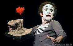 Marcel Marceau was an internationally acclaimed French actor and mime most famous for his persona as Bip the Clown. You become a famous Mimicker artist then you join this community and show your talent.