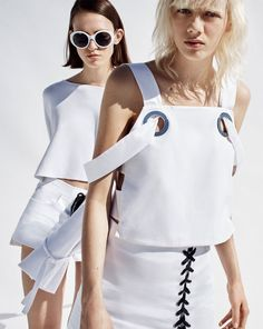 ZARA - #zaraeditorial - TRF - REWORKED WHITE