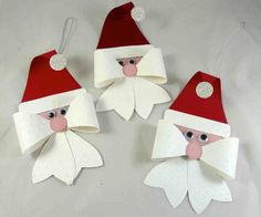 New Post winter paper craft Kids Crafts, Christmas Crafts For Kids, Christmas Activities, Felt Christmas, Christmas Projects, Holiday Crafts, Christmas Cards, Christmas Christmas, Santa Crafts
