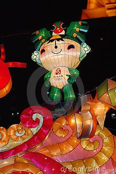 Mascots of Beijing 2008 Olympic