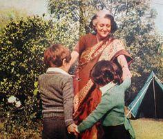 Indira Gandhi'nin öteki yüzü Nine ve torunları : Siyaset dünyasının en güçlü kadınlarından birisidir Indira Gandhi. Hindistan başbakanı ülkesinin sorunlarıyla uğraşırken çok sevdiği torunlarını da ihmal etmemeye çalışır. Doğunun bu güçlü hükümet başkanı evinde yufka yürekli bir babaannedir. Sevgili torunları Rahu ve Priyanka'nın bir dediğini iki etmez...1975