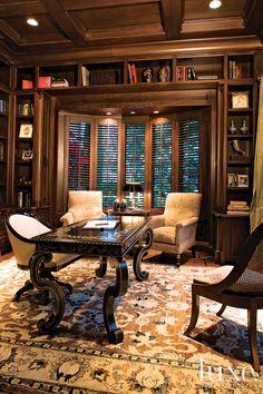 Stunning Library Luxe California @Aaron Kapor De Simone Interiors + Design