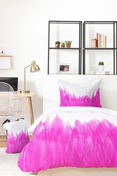 Allyson Johnson Pink Brushed Bed in a Bag by DENY Designs on @HauteLook