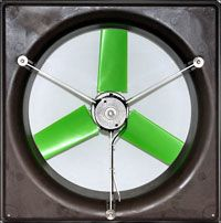 Solar Fans for Greenhouses  Ventilation Requirements & Exhaust Snap Fans