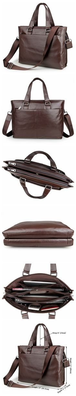 genuine leather handbags for men