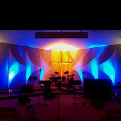 Lovely Church Stage Decorations