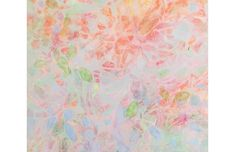 Floral Abstraction - C. 1975 - McNaught Fine Art - Pink