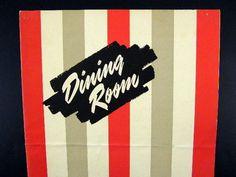 Chicago Athletic Association Dining Room Menu June 24 1955   eBay