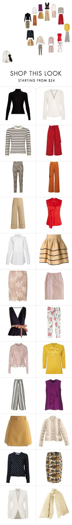 """20 piece 2"" by marchied on Polyvore featuring Acne Studios, Elizabeth and James, Theory, TIBI, Isabel Marant, WithChic, Sea, New York, ATM by Anthony Thomas Melillo, FAUSTO PUGLISI and Dorothy Perkins"