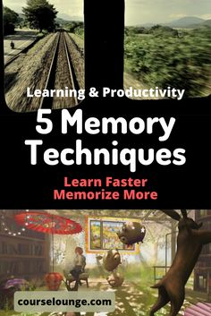 A list of 5 memory techniques for those who are self-educating, starting a business, want to read more while improving their ability to recall content. How To Read More, How To Read Faster, Learn Faster, Speed Reading, Reading Skills, Best Speakers, Learning Techniques, Good Environment, What If Questions