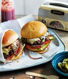 Cheeseburgers recipe | Gourmet Traveller recipe - Gourmet Traveller