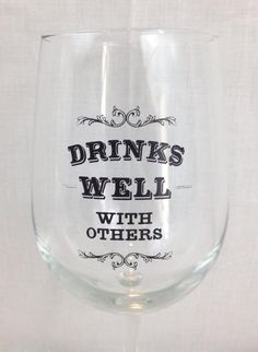 Fleurty Girl - Everything New Orleans - Drinks Well With Others Wine Glass