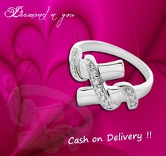 Stunning and visually appealing, this ring is for every woman, who loves the shine of diamonds! We have designed this ring with diamonds selected by experts and set in classy setting of sterling silver. You can now buy this ring here and pay the price on delivery! Check our offer here http://diamondnyou.com